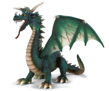 Символ фэн-шуй Зеленый Дракон