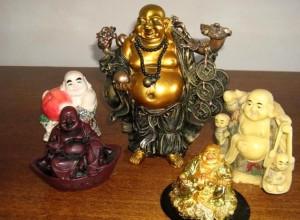 Фигурки Смеющегося Будды или Хоттея