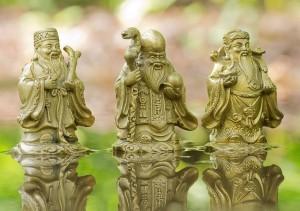 Три звездных старца Фук, Лук, Сао