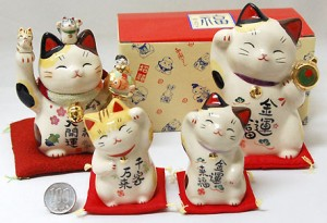Счастливый кот в традиции фен-шуй