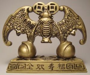 Летучая мышь или Бянь Фу в традиции фен-шуй